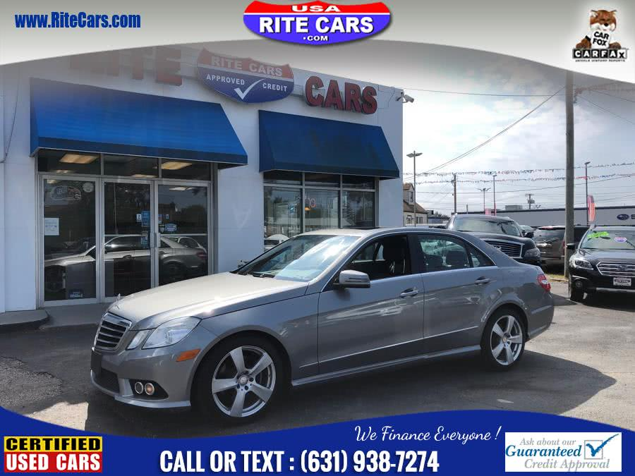 Used Mercedes-Benz E-Class 4dr Sdn E350 Luxury 4MATIC 2010 | Rite Cars, Inc. Lindenhurst, New York