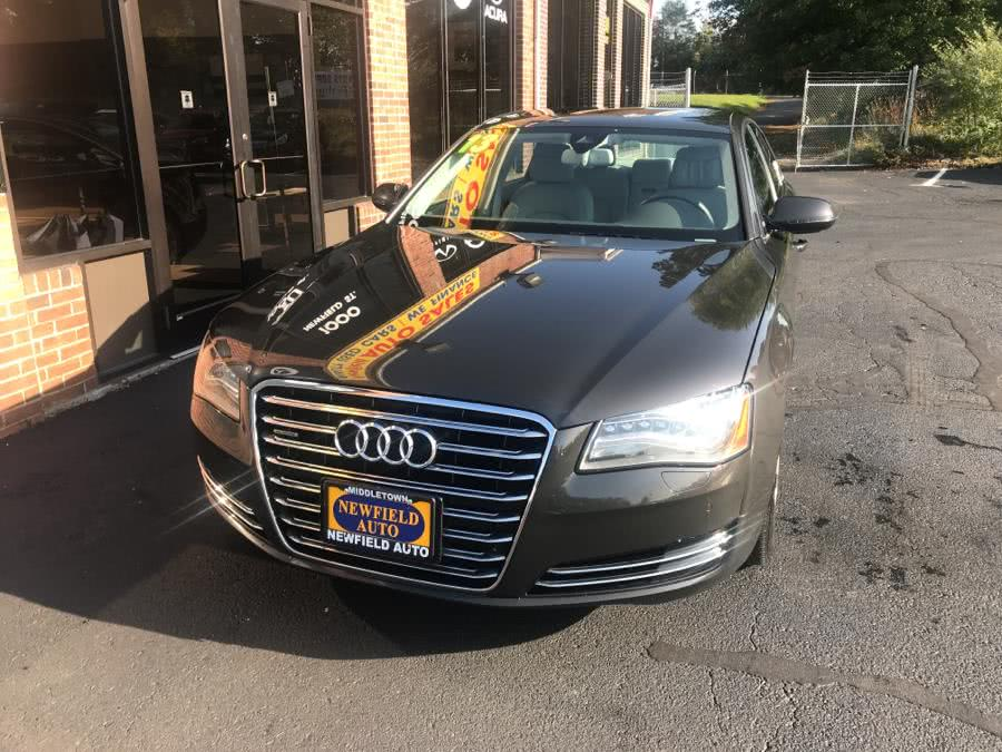 Used 2013 Audi A8 in Middletown, Connecticut | Newfield Auto Sales. Middletown, Connecticut