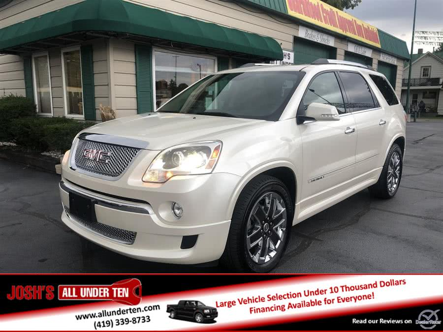 Used 2012 GMC Acadia in Elida, Ohio | Josh's All Under Ten LLC. Elida, Ohio