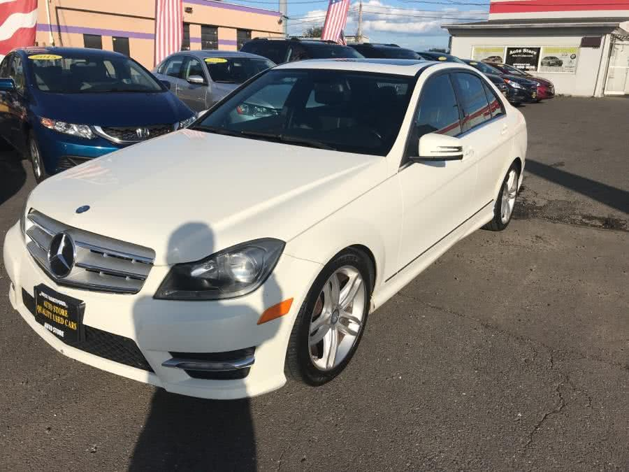 Used Mercedes-Benz C-Class 4dr Sdn C300 Sport 4MATIC 2012 | Auto Store. West Hartford, Connecticut