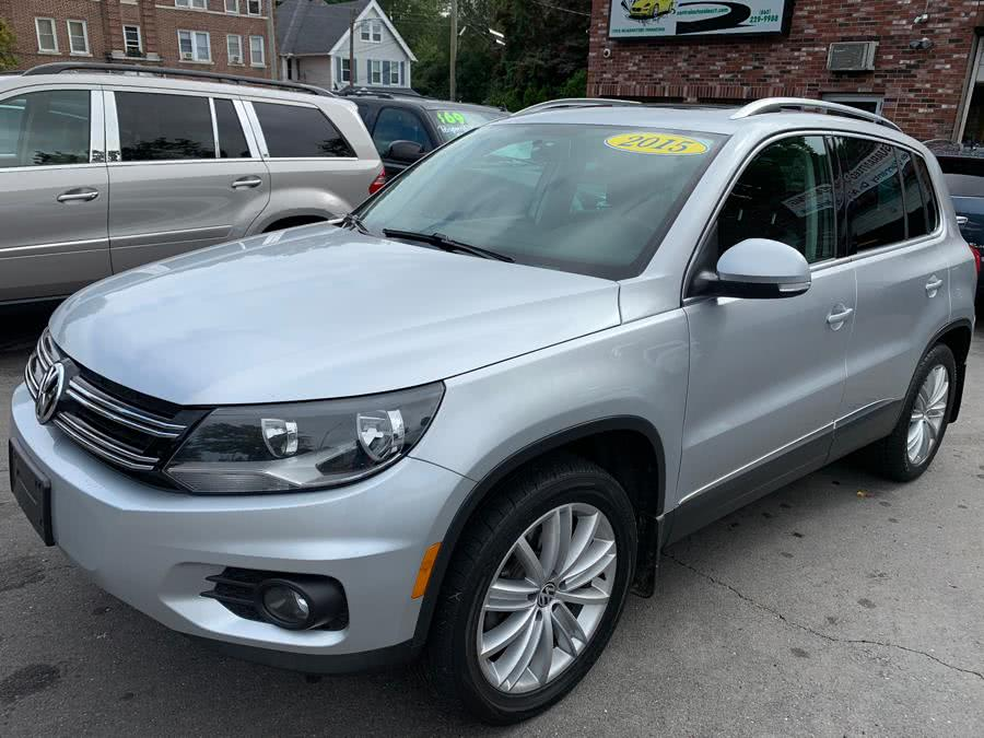 Used 2015 Volkswagen Tiguan in New Britain, Connecticut | Central Auto Sales & Service. New Britain, Connecticut