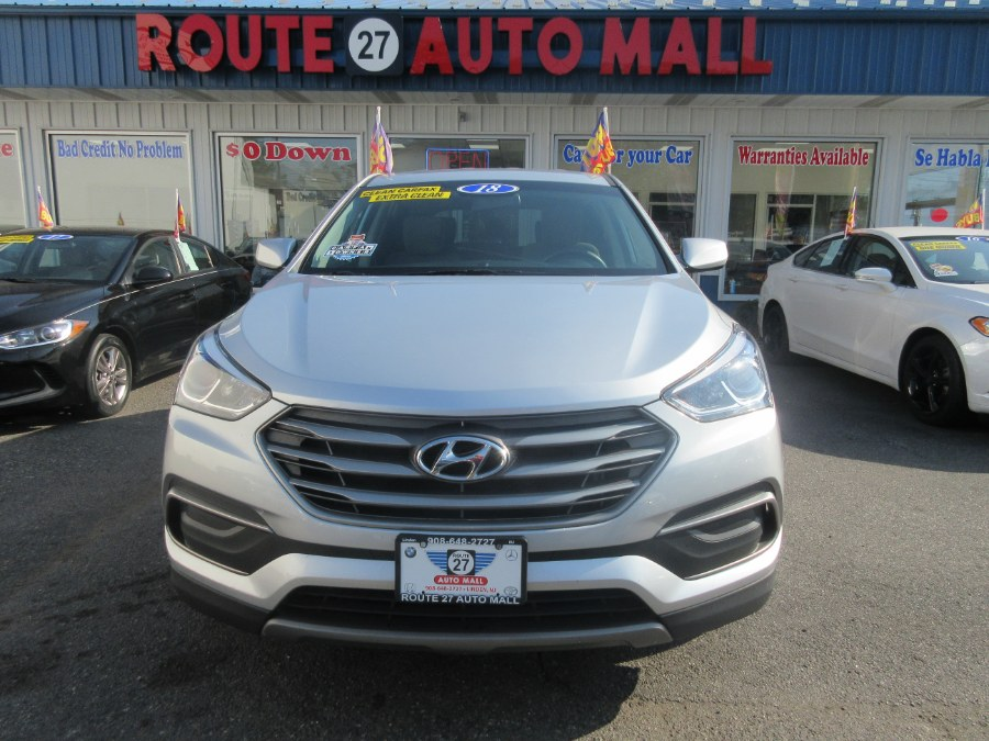 2018 Hyundai Santa Fe Sport 2.4L Auto, available for sale in Linden, New Jersey | Route 27 Auto Mall. Linden, New Jersey