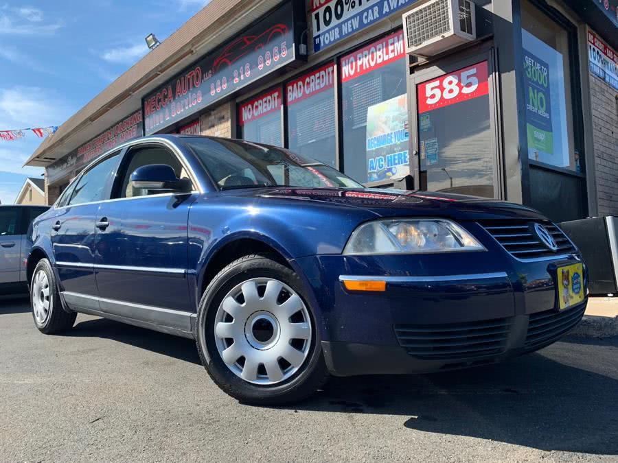 Used 2004 Volkswagen Passat Sedan in Hartford, Connecticut   Mecca Auto LLC. Hartford, Connecticut