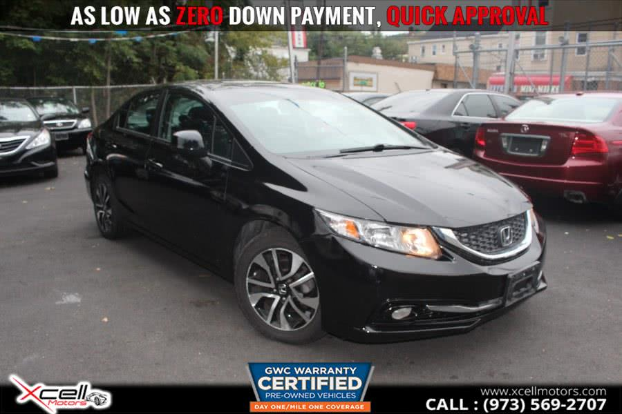 Used 2013 Honda Civic Sdn in Paterson, New Jersey | Xcell Motors LLC. Paterson, New Jersey
