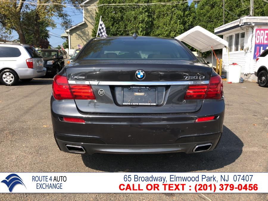 2015 BMW 7 Series 4dr Sdn 750Li xDrive AWD, available for sale in Elmwood Park, New Jersey | Route 4 Auto Exchange. Elmwood Park, New Jersey