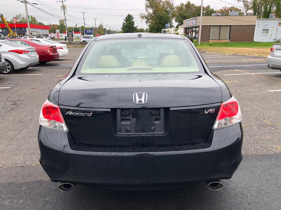 2008 Honda Accord Sdn 4dr V6 Auto EX-L w/Navi, available for sale in Manchester, Connecticut | Manchester Car Center. Manchester, Connecticut