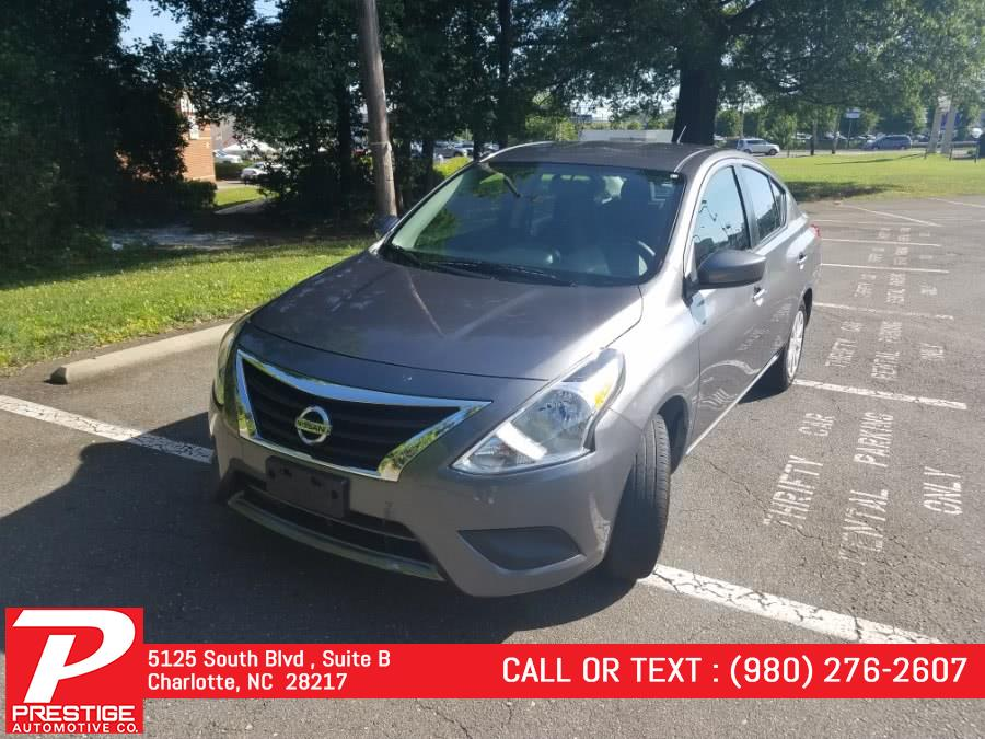 Used Nissan Versa Sedan SV CVT 2019 | Prestige Automotive Companies. Charlotte, North Carolina
