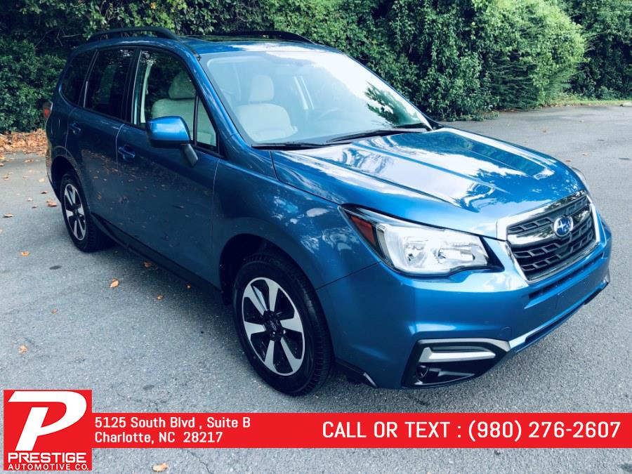 Used Subaru Forester 2.5i Premium CVT 2018 | Prestige Automotive Companies. Charlotte, North Carolina