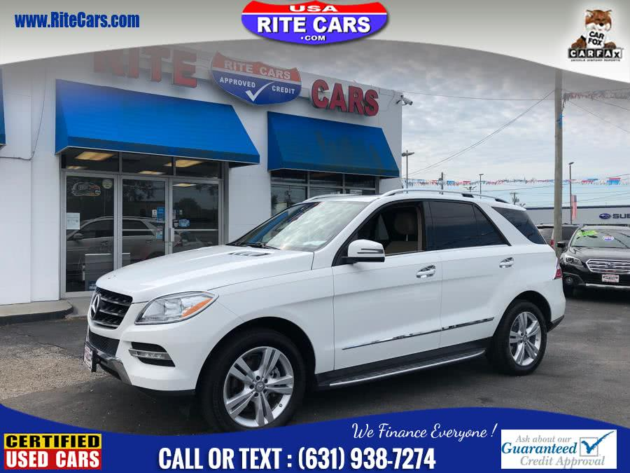 Used Mercedes-Benz M-Class 4MATIC 4dr ML350 W/ Drivers Ass 2015 | Rite Cars, Inc. Lindenhurst, New York