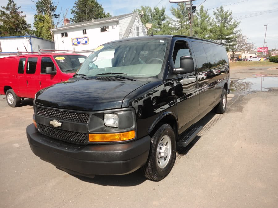 Used 2015 Chevrolet Express Passenger in Berlin, Connecticut | International Motorcars llc. Berlin, Connecticut