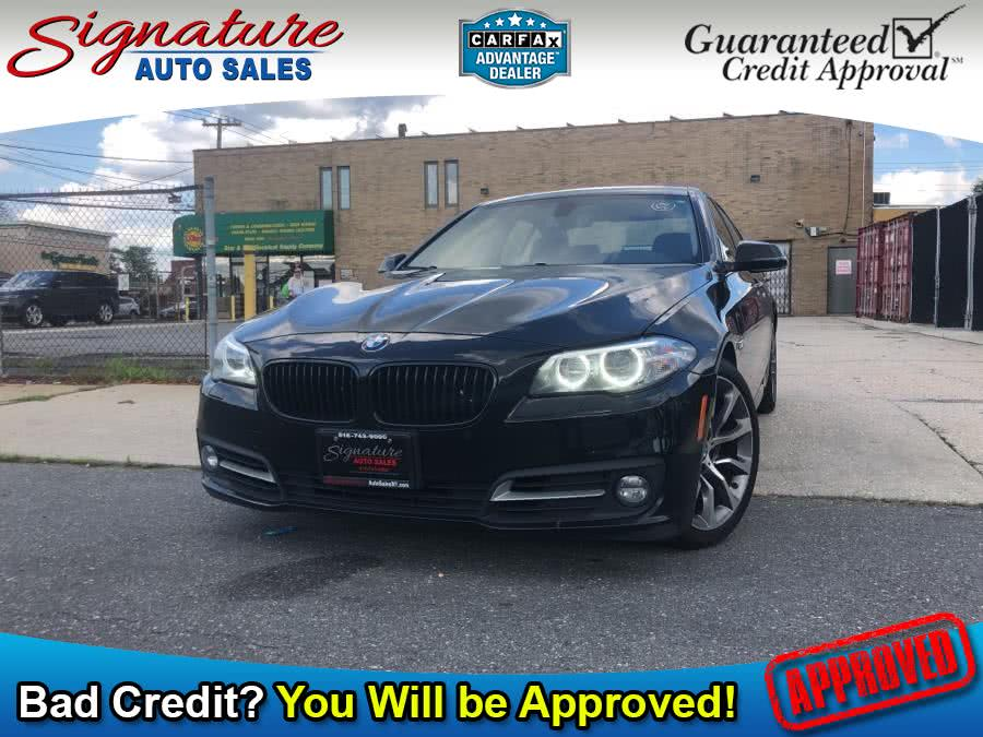Used 2016 BMW 5 Series in Franklin Square, New York | Signature Auto Sales. Franklin Square, New York