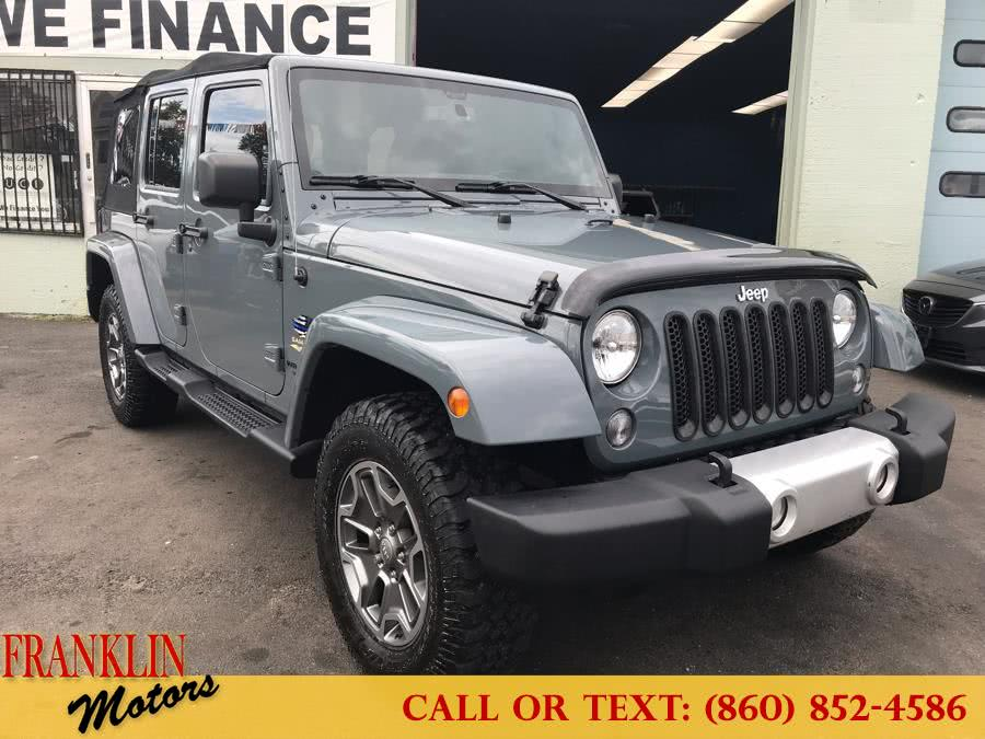 Used 2014 Jeep Wrangler Unlimited in Hartford, Connecticut | Franklin Motors Auto Sales LLC. Hartford, Connecticut