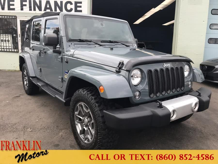 Used 2014 Jeep Wrangler Unlimited in Hartford, Connecticut   Franklin Motors Auto Sales LLC. Hartford, Connecticut