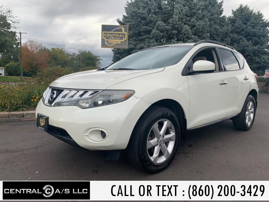 Used Nissan Murano AWD 4dr LE 2009 | Central A/S LLC. East Windsor, Connecticut