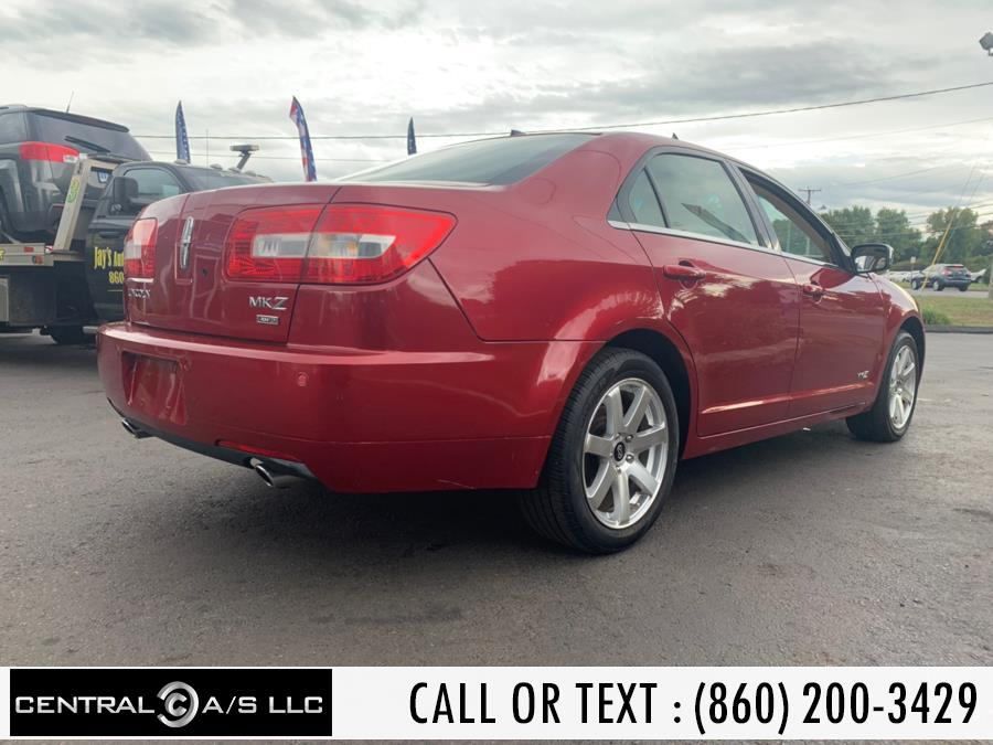 Used Lincoln MKZ 4dr Sdn AWD 2008 | Central A/S LLC. East Windsor, Connecticut