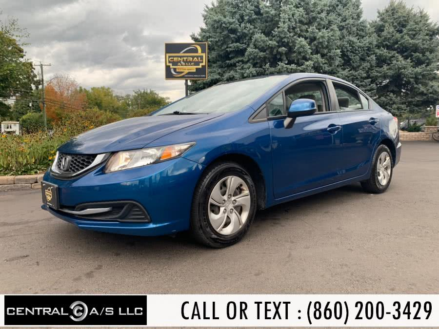 Used Honda Civic Sdn 4dr Auto LX 2013 | Central A/S LLC. East Windsor, Connecticut