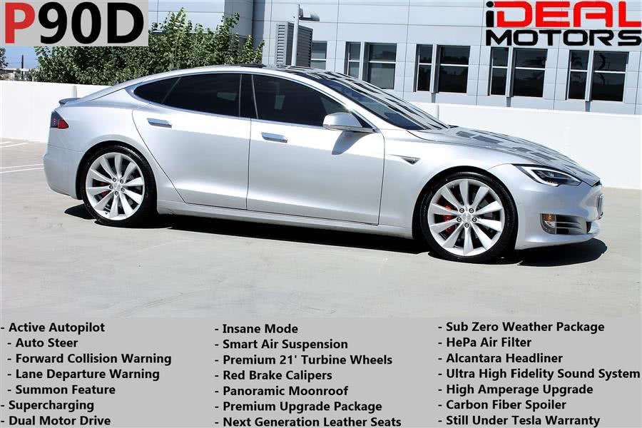 Used Tesla Model s P90D Sedan 4D 2016 | Ideal Motors. Costa Mesa, California