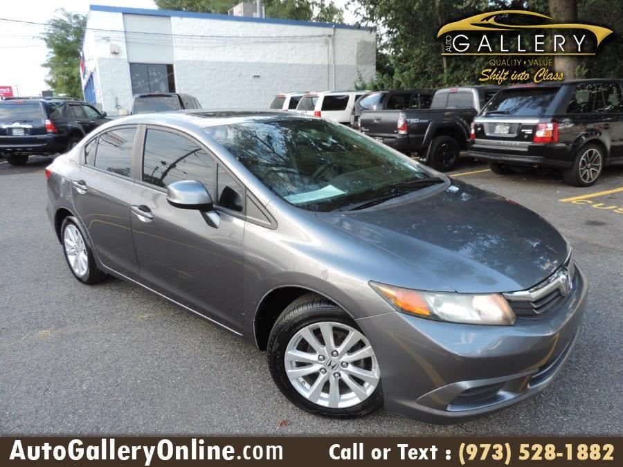 Used 2012 Honda Civic Sdn in Lodi, New Jersey | Auto Gallery. Lodi, New Jersey