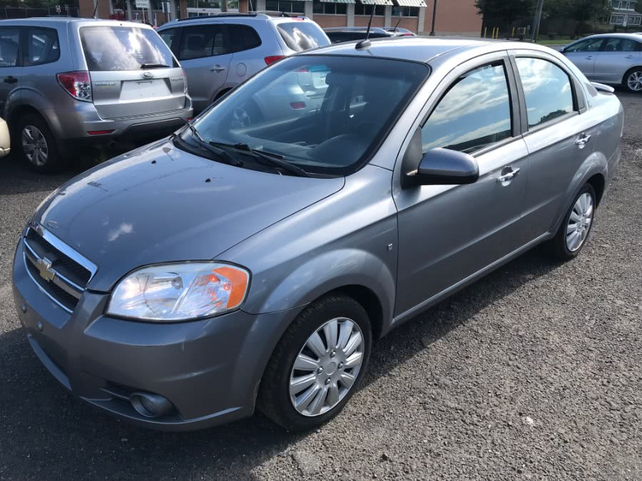 2009 Chevrolet Aveo 4dr Sdn LT w/2LT, available for sale in Wallingford, Connecticut | Wallingford Auto Center LLC. Wallingford, Connecticut