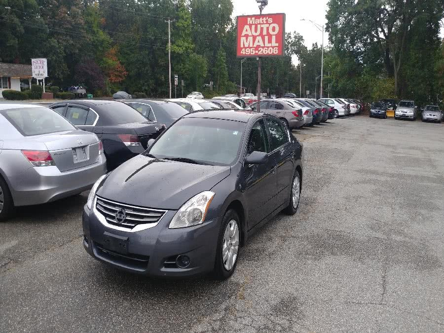 Used 2012 Nissan Altima in Chicopee, Massachusetts | Matts Auto Mall LLC. Chicopee, Massachusetts