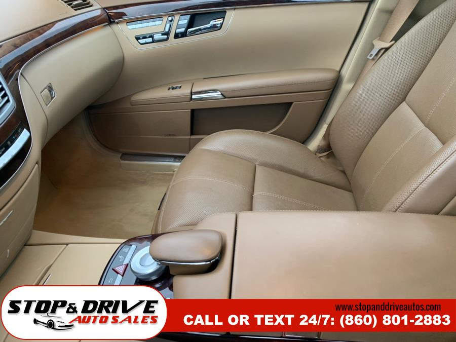 2007 Mercedes-Benz S-Class 4dr Sdn 5.5L V8 RWD, available for sale in East Windsor, Connecticut | Stop & Drive Auto Sales. East Windsor, Connecticut