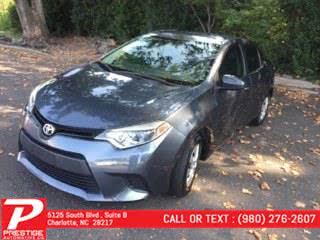 Used 2016 Toyota Corolla in Charlotte, North Carolina | Prestige Automotive Companies. Charlotte, North Carolina