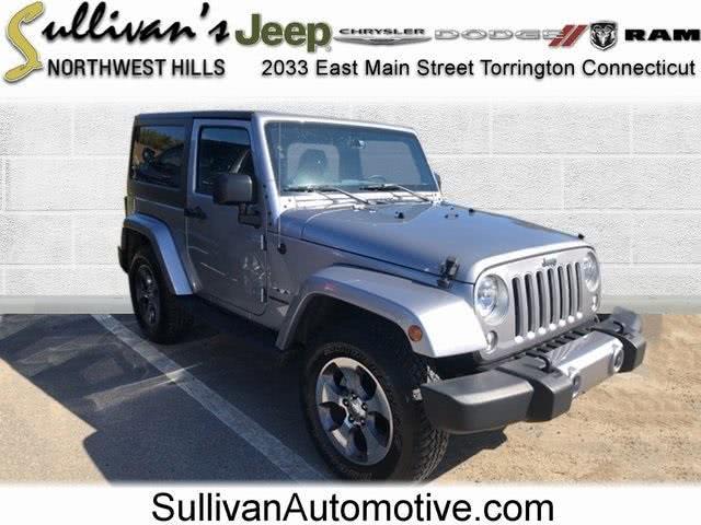Used Jeep Wrangler Sahara 2016 | Sullivan Automotive Group. Avon, Connecticut