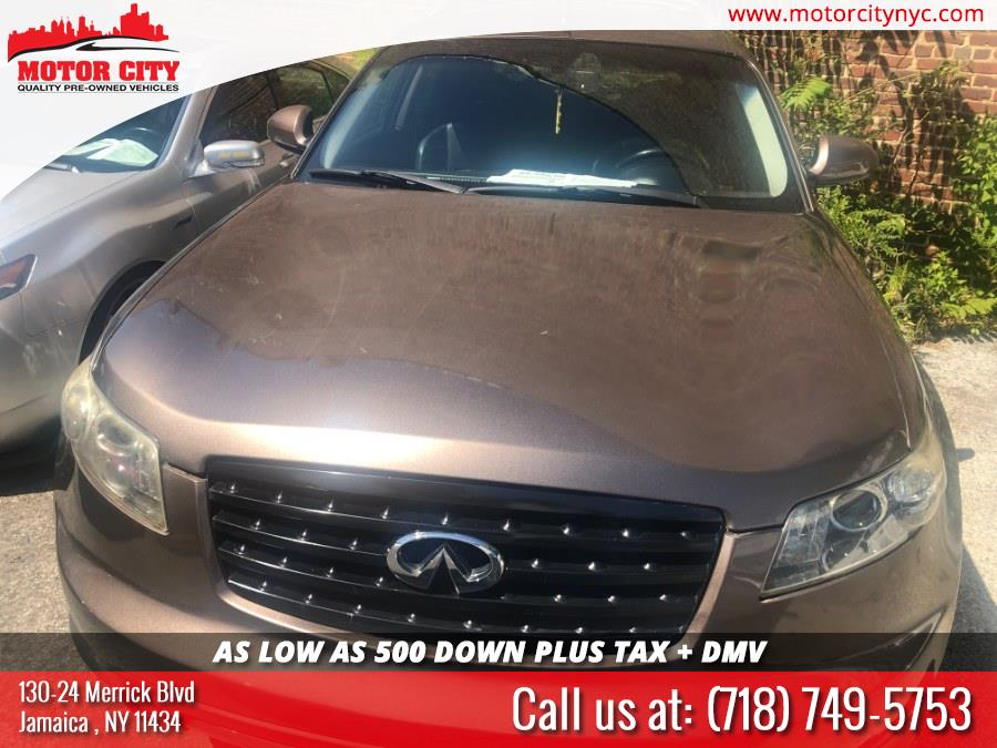 2008 Infiniti FX35 AWD 4dr, available for sale in Jamaica, New York   Motor City. Jamaica, New York
