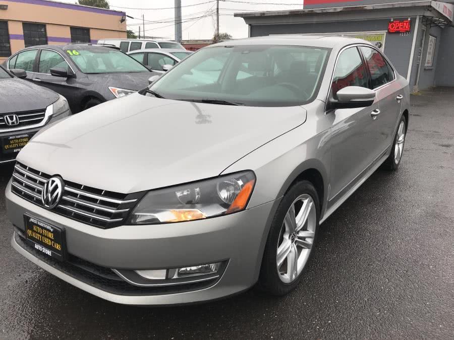 Used Volkswagen Passat 4dr Sdn 2.0L DSG TDI SEL Premium 2014 | Auto Store. West Hartford, Connecticut