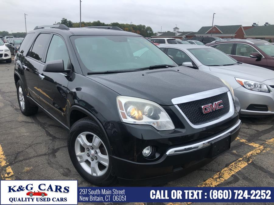 Used GMC Acadia AWD 4dr SLE 2010 | K and G Cars . New Britain, Connecticut
