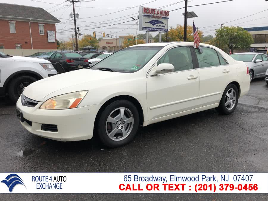 Used 2006 Honda Accord Hybrid in Elmwood Park, New Jersey | Route 4 Auto Exchange. Elmwood Park, New Jersey