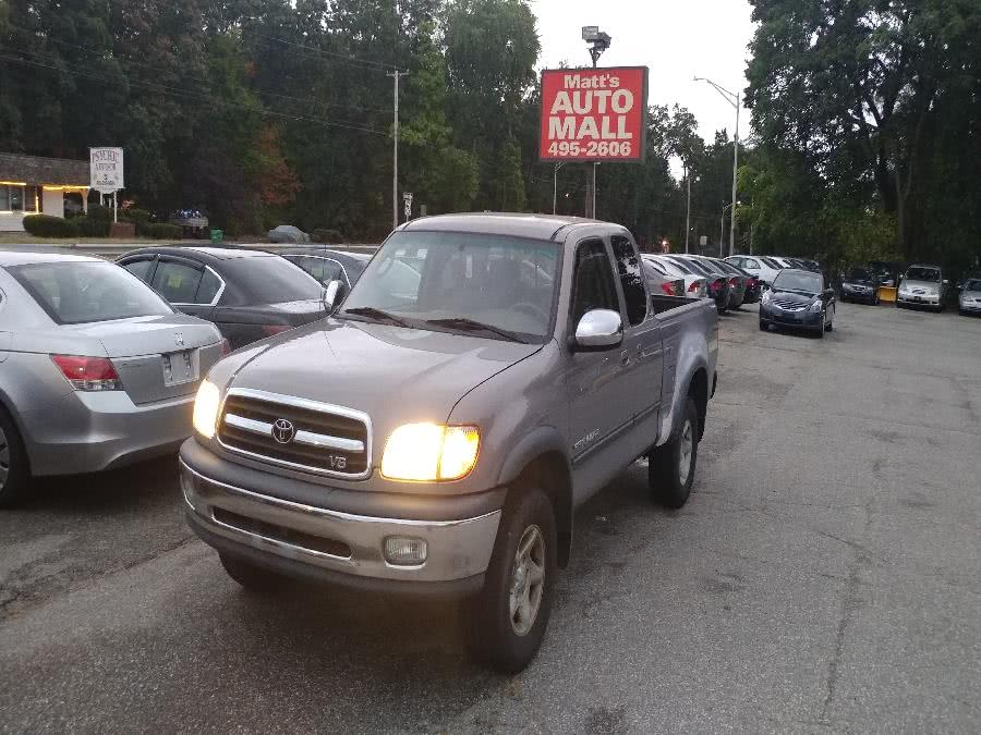 Used Toyota Tundra Access Cab V8 Auto SR5 4WD (Natl) 2001 | Matts Auto Mall LLC. Chicopee, Massachusetts