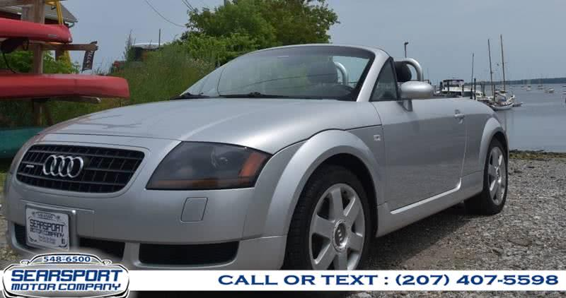 Used 2004 Audi TT in Searsport, Maine | Searsport Motor Company. Searsport, Maine