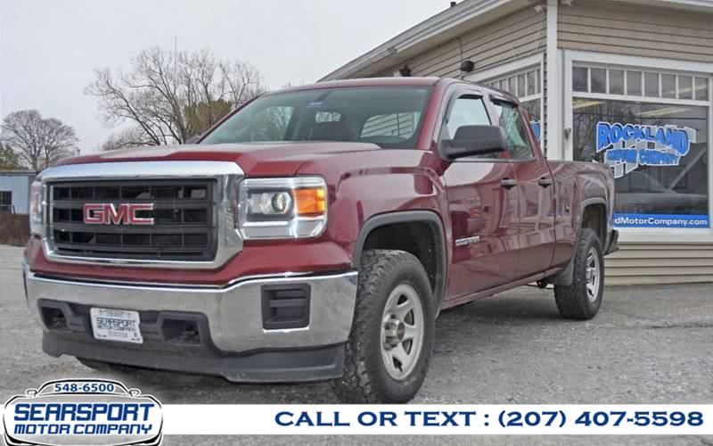 Used 2015 GMC Sierra 1500 in Searsport, Maine | Searsport Motor Company. Searsport, Maine