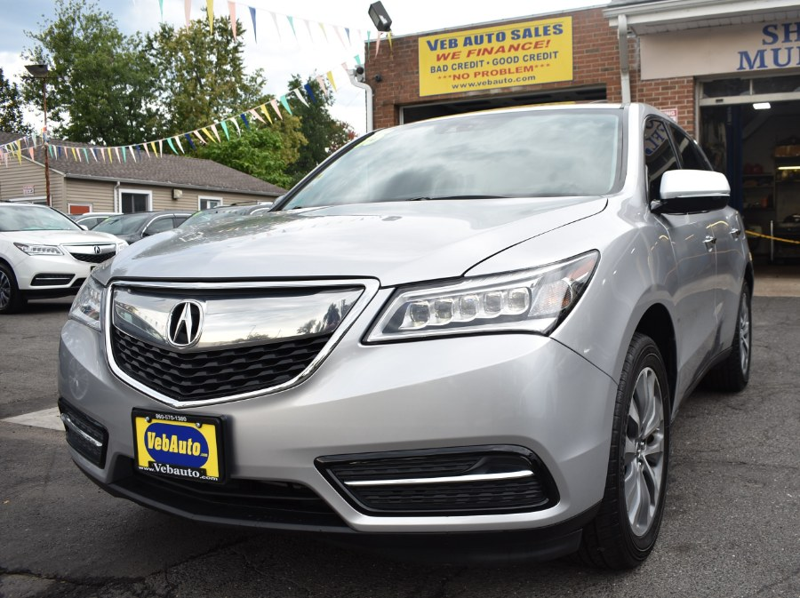 2015 Acura MDX SH-AWD 4dr Tech Pkg, available for sale in Hartford, Connecticut | VEB Auto Sales. Hartford, Connecticut