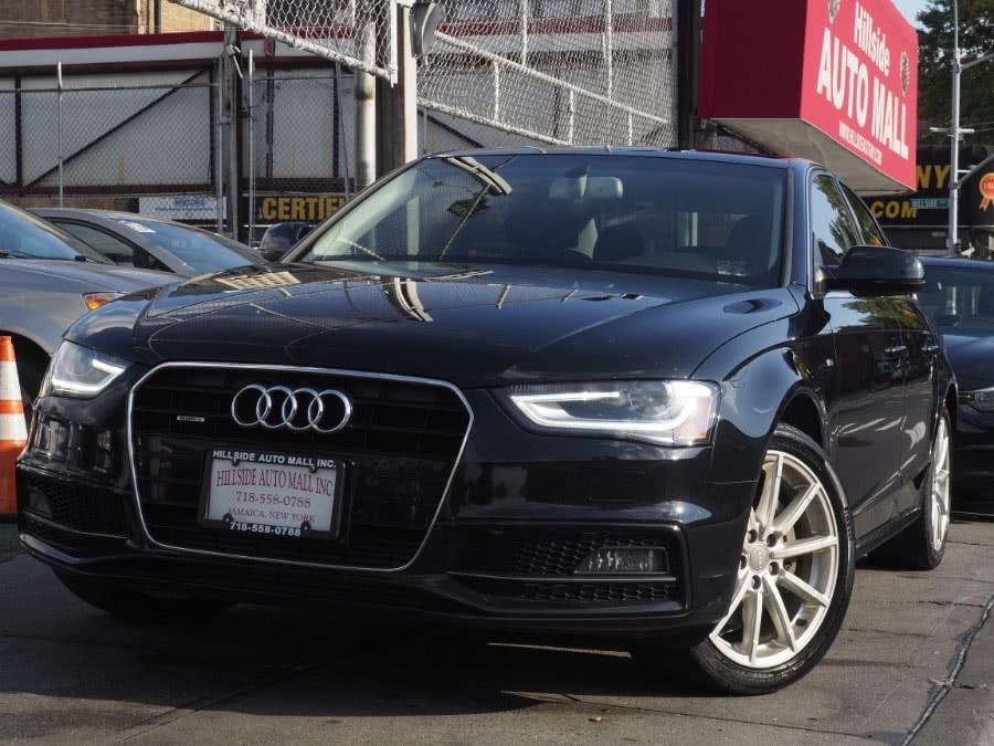 Used 2016 Audi A4 in Jamaica, New York | Hillside Auto Mall Inc.. Jamaica, New York