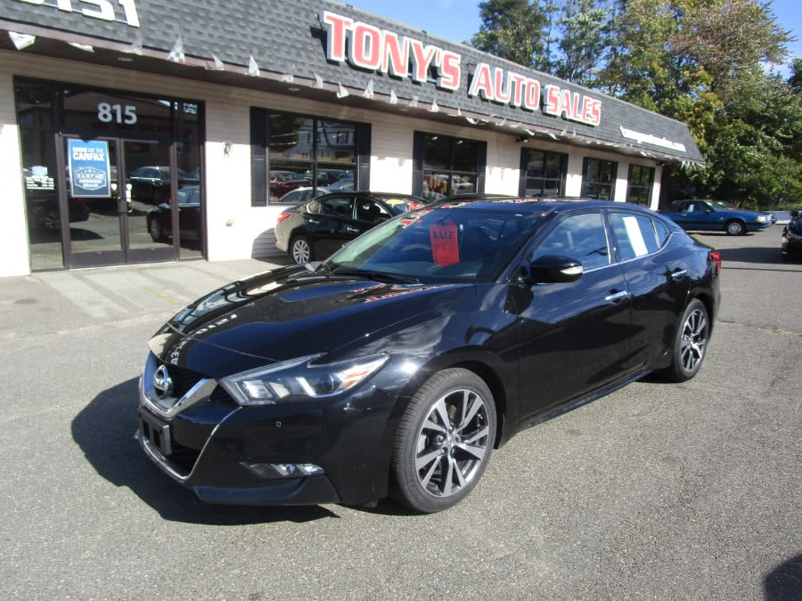 Used 2017 Nissan Maxima in Waterbury, Connecticut | Tony's Auto Sales. Waterbury, Connecticut