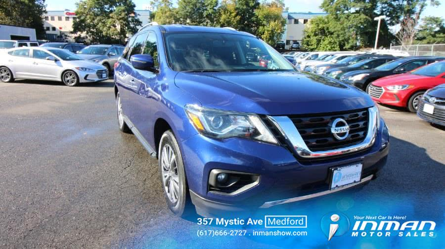 Used 2018 Nissan Pathfinder in Medford, Massachusetts | Inman Motors Sales. Medford, Massachusetts