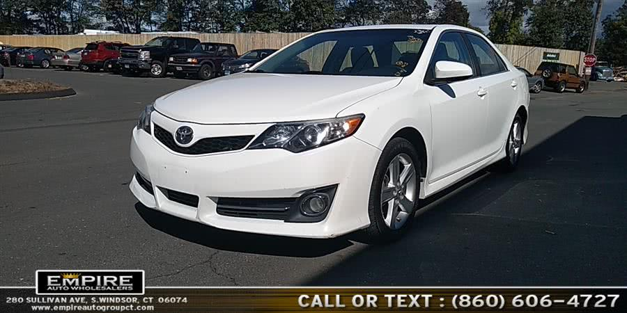Used Toyota Camry 4dr Sdn I4 Auto SE (Natl) 2013 | Empire Auto Wholesalers. S.Windsor, Connecticut