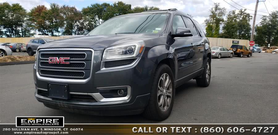 2014 GMC Acadia AWD 4dr SLT1, available for sale in S.Windsor, Connecticut | Empire Auto Wholesalers. S.Windsor, Connecticut