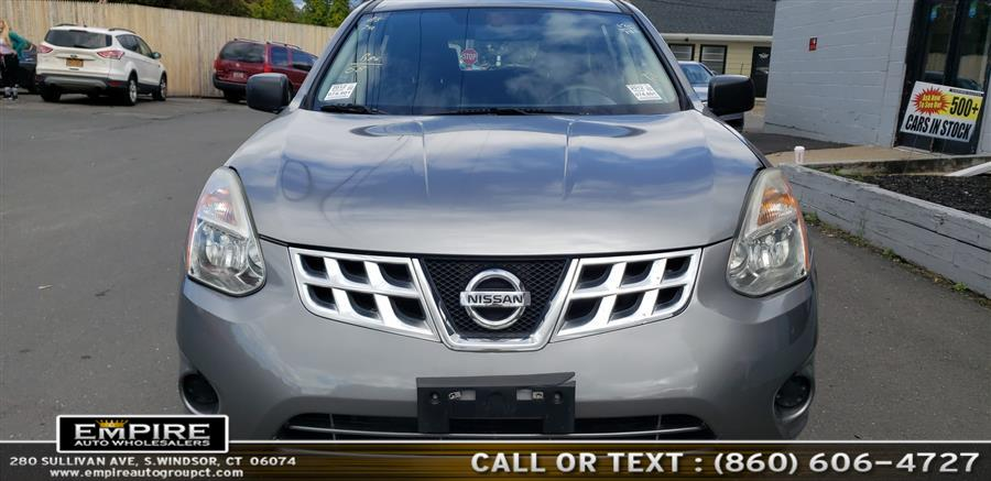 2012 Nissan Rogue AWD 4dr S, available for sale in S.Windsor, Connecticut | Empire Auto Wholesalers. S.Windsor, Connecticut
