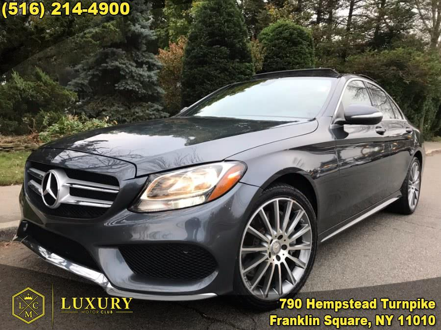 2015 Mercedes-Benz C-Class 4dr Sdn C300 Sport 4MATIC, available for sale in Franklin Square, New York | Luxury Motor Club. Franklin Square, New York