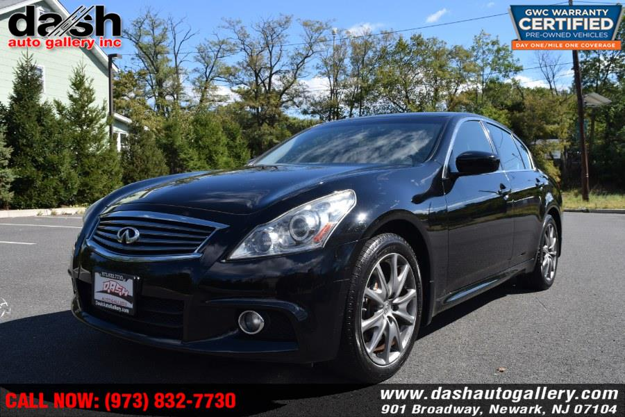 2013 Infiniti G37 Sedan 4dr x AWD, available for sale in Newark, New Jersey | Dash Auto Gallery Inc.. Newark, New Jersey