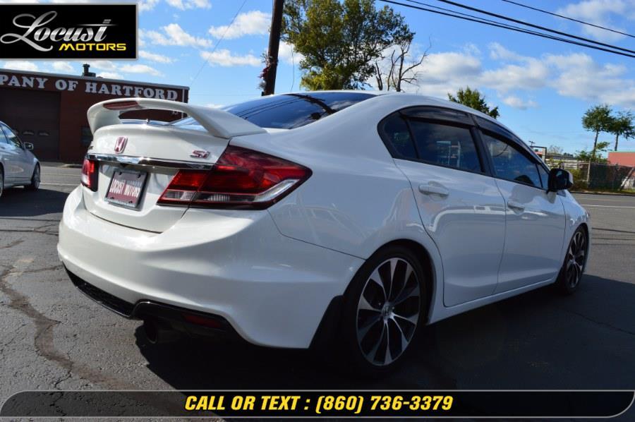 2013 Honda Civic Sdn 4dr Man Si, available for sale in Hartford, Connecticut | Locust Motors LLC. Hartford, Connecticut