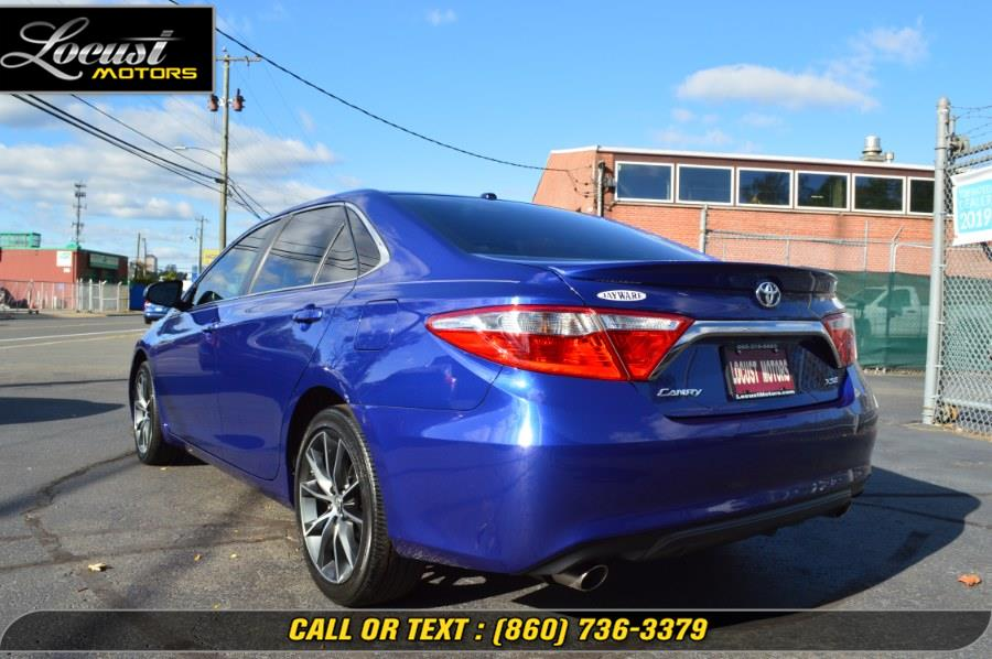 2015 Toyota Camry 4dr Sdn V6 Auto XSE (Natl), available for sale in Hartford, Connecticut | Locust Motors LLC. Hartford, Connecticut