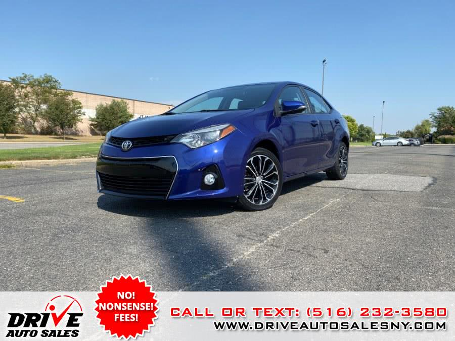 Used Toyota Corolla 4dr Sdn CVT S Plus (Natl) 2016 | Drive Auto Sales. Bayshore, New York