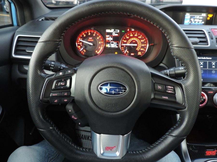 Used Subaru WRX STI 4dr Sdn Series.HyperBlue 2016 | Auto Gallery. Lodi, New Jersey
