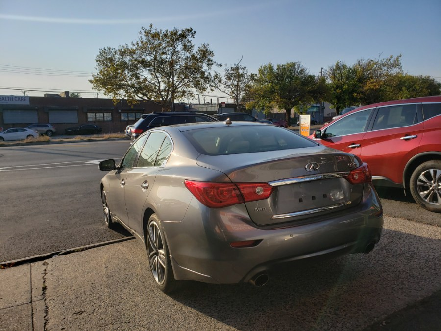 Used Infiniti Q50 4dr Sdn AWD 2015 | Rubber Bros Auto World. Brooklyn, New York