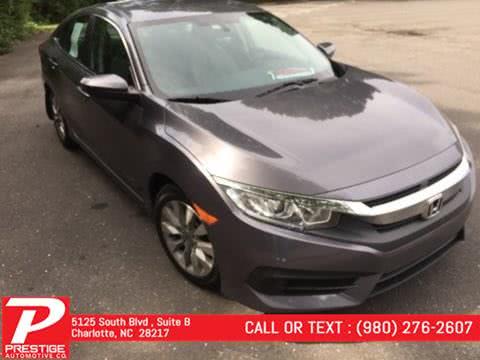Used 2016 Honda Civic Sedan in Charlotte, North Carolina | Prestige Automotive Companies. Charlotte, North Carolina