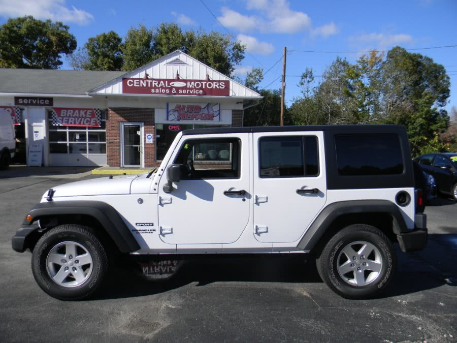 Used 2016 Jeep Wrangler Unlimited in Southborough, Massachusetts | M&M Vehicles Inc dba Central Motors. Southborough, Massachusetts